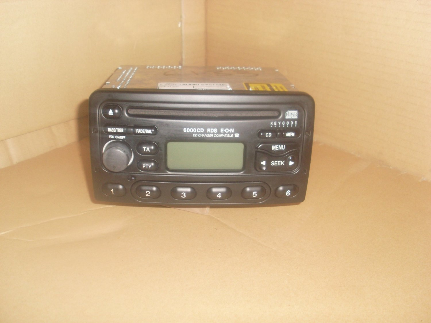 ford 6000 cd player radio black e0n cd chnager compatiable. Black Bedroom Furniture Sets. Home Design Ideas