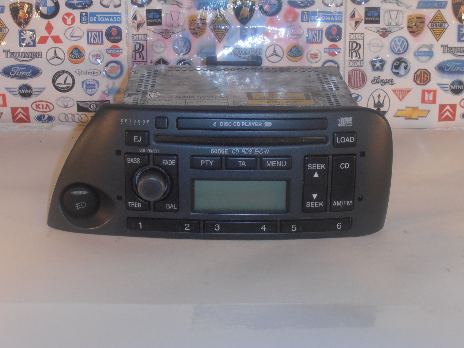 ford street ka sport ka 6006e 6 cd player radio rds eon. Black Bedroom Furniture Sets. Home Design Ideas