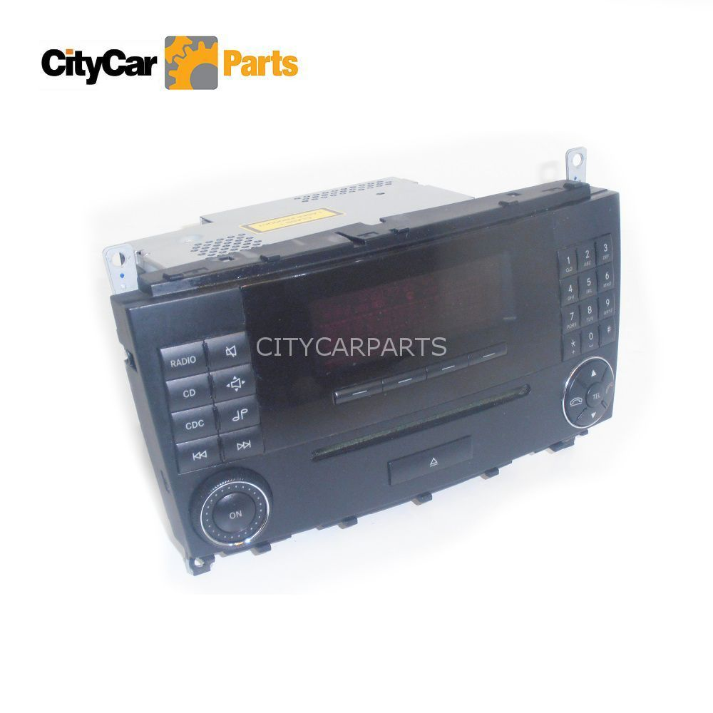 Mercedes c class w203 00 07 cd player radio mf2530 for Mercedes benz cd player