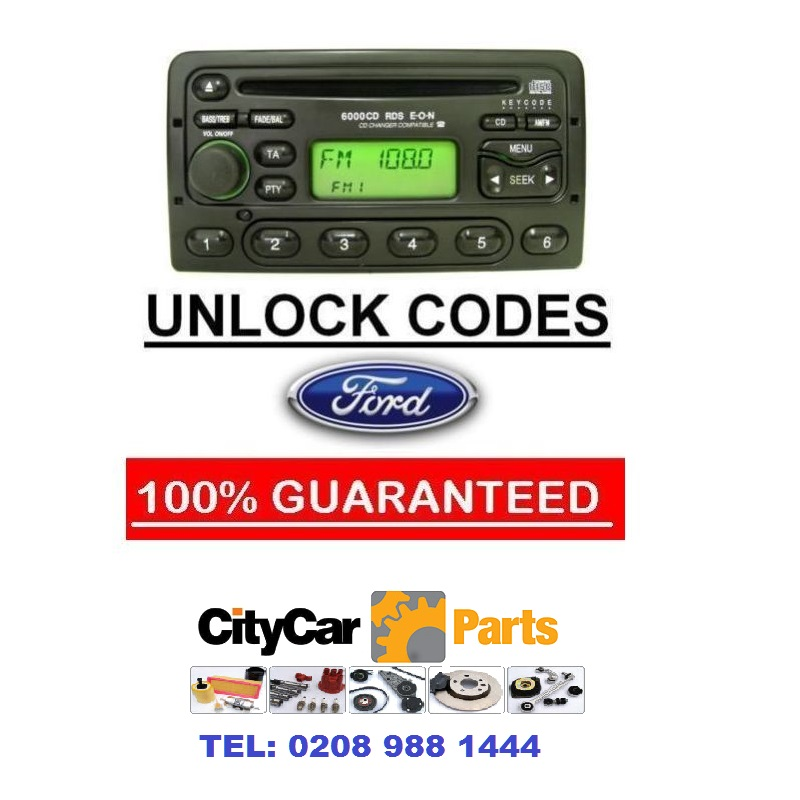 ford radio code unlock for m series codes 3000 4000 5000 6000 6006