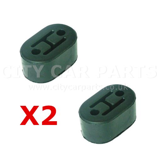 2 X Mitsubishi ASX Galant Lancer Petrol & Diseal Models Rear Silencer Exhaust Rubber Mount