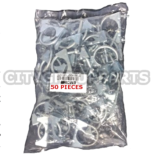 50 EXHAUST FITTINGS  54MM EXHAUST U-CLAMP WORKSHOP BAG 50 54 MM EMC060