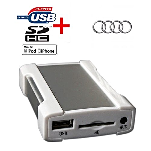 audi a3 a4 tt ipod iphone usb sd mp3 aux in new all in one interface sku1577. Black Bedroom Furniture Sets. Home Design Ideas