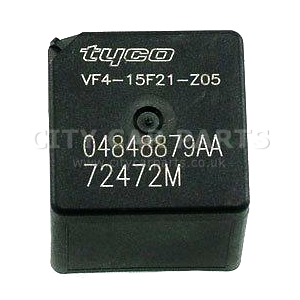 CHRYSLER JEEP DODGE 5 PIN MULTI-USE BLACK RELAY TYCO 04848879AA 72472M USA