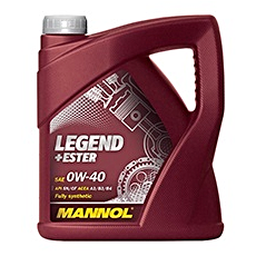 ENGINE OIL MANNOL GERMAN OIL 0W40 FULLY SYNTHETIC Car Engine Oil - API SN/CF 4 LITRE