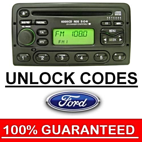 ford 4500 4050 5000 6000 rds eon radio stereo cd unlock. Black Bedroom Furniture Sets. Home Design Ideas