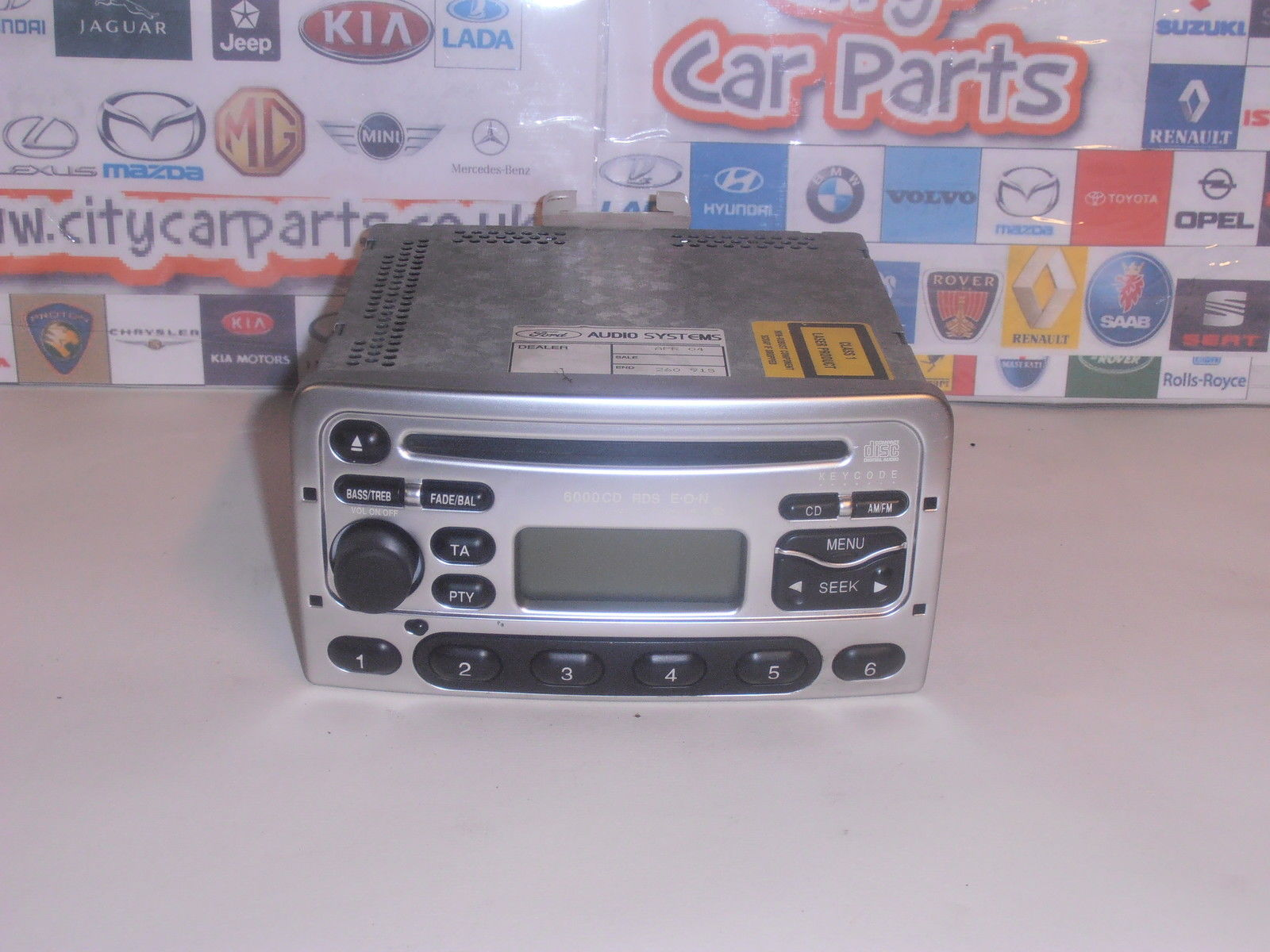 ford 6000 cd focus mondeo transit fiesta fusion radio. Black Bedroom Furniture Sets. Home Design Ideas