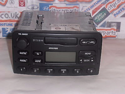 Ford radio cassette 4000 rds focus transit escort ect with code ford radio cassette 4000 rds focus transitescort ect with code publicscrutiny Choice Image