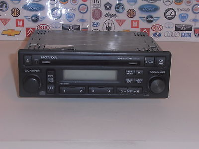 How To Enter Honda Radio Code >> HONDA ACCORD MK6 MODELS 1998 TO 2003 RADIO CD PLAYER ...