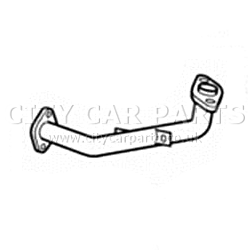 HONDA CIVIC 1.8 PETROL HATCHBACK MODES 10/2005 TO 12/2012 FRONT DOWN PIPE EXHAUST