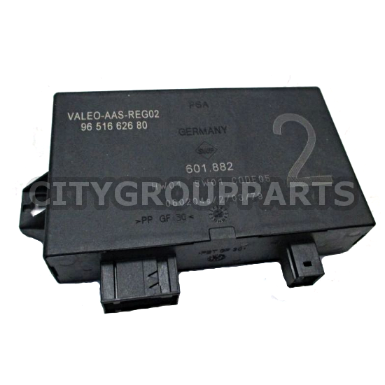 PEUGEOT & 307CC / CITROEN VALEO PARKING SENSOR ASSISTANT ECU 9651662680