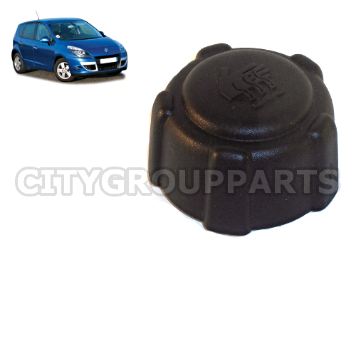 renault scenic grand scenic mk3 2009 to 2012 coolant expansion bottle reservoir cap. Black Bedroom Furniture Sets. Home Design Ideas