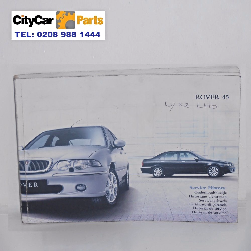 rover 45 mk1 models from 1999 to 2004 owners manual handbook service rh citycarparts co uk Red Rover 400 Rover 100