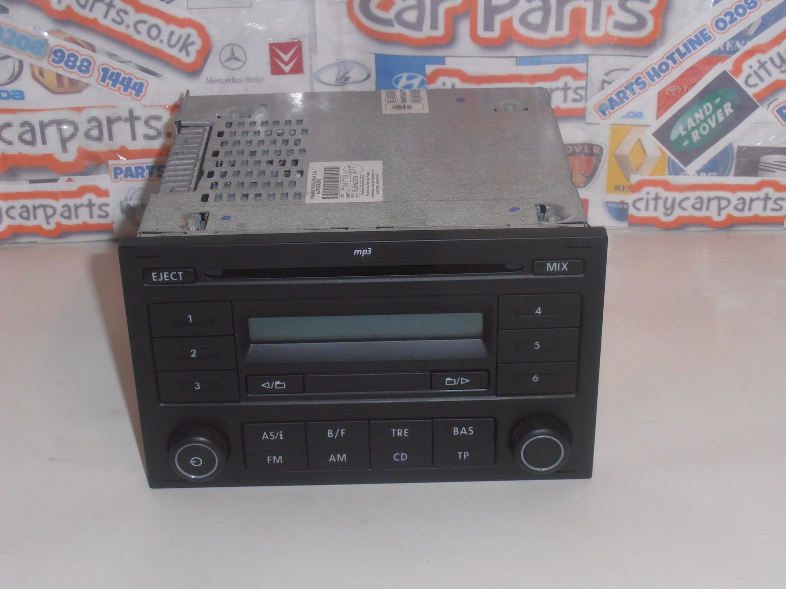vw polo t5 fox lupo caddy rcd 200 radio cd mp3 player with. Black Bedroom Furniture Sets. Home Design Ideas